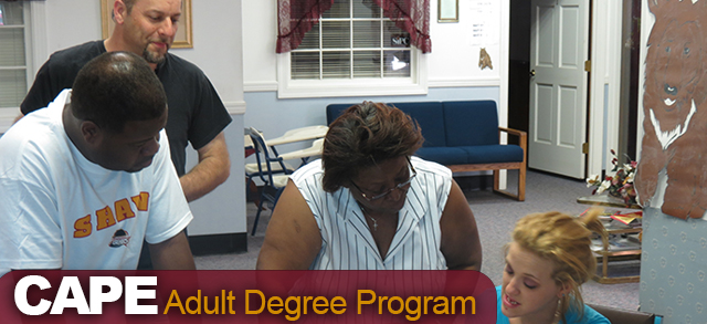 Kannapolis CAPE - Adult Degree Program
