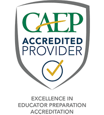 CAEP Accredited Institution - Logo