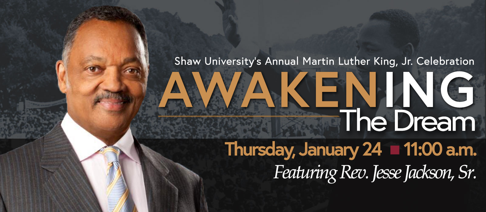 Annual Martin Luther King Jr., Celebration - Jan. 24