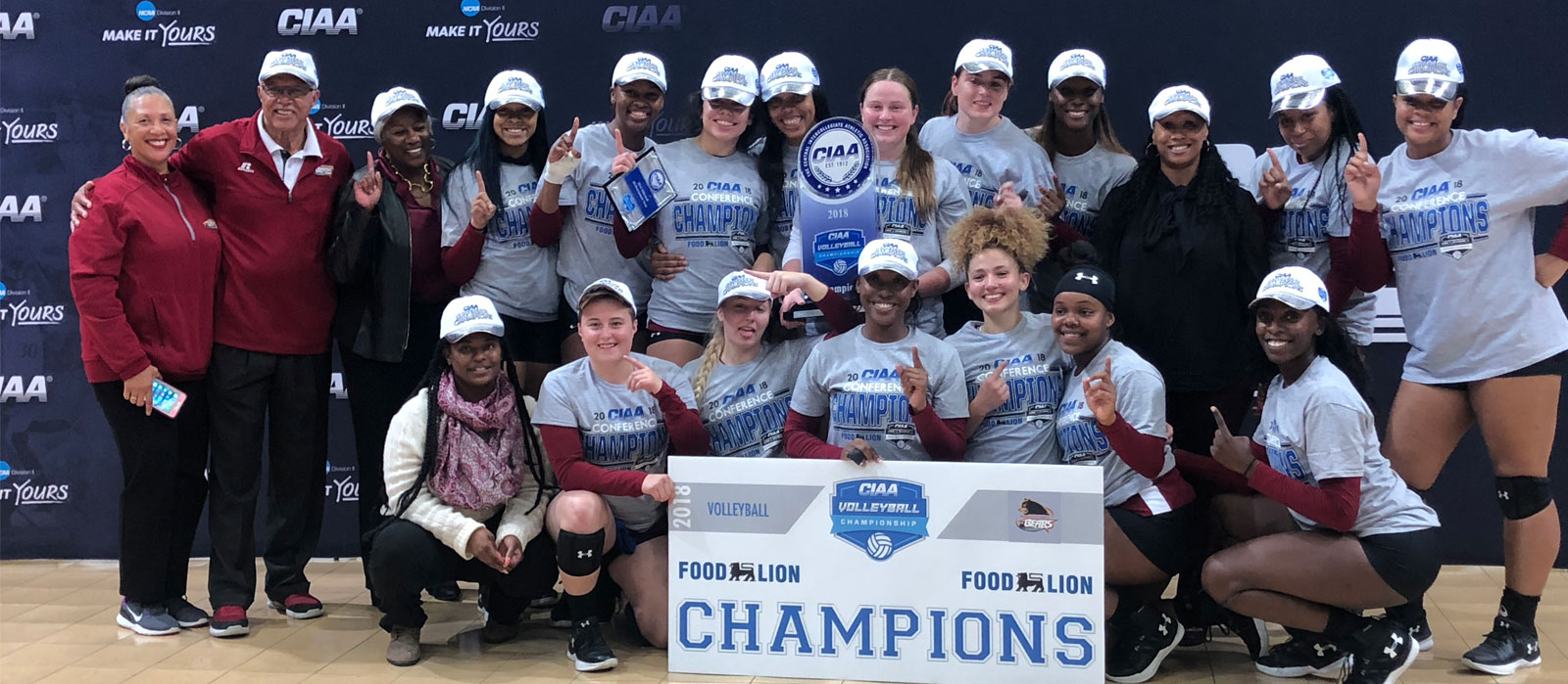 Volleyball 2018 CIAA Win