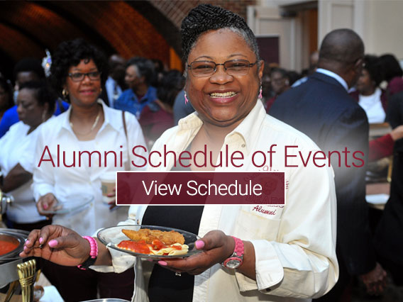 Alumni Schedule of Events