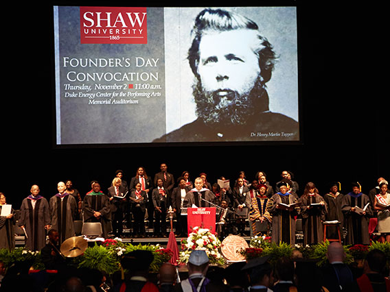 Founders Day with Dr. James A. Forbes, Jr.