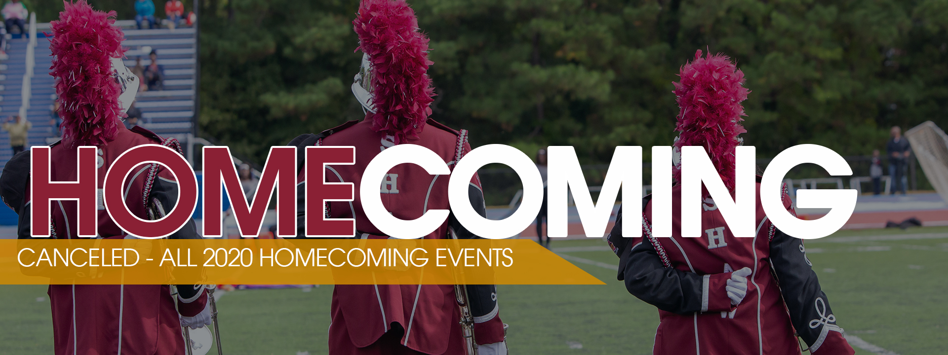 Welcome Home - Homecoming October 21-28