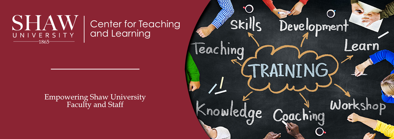 Center for Teaching and Learning - training graphic