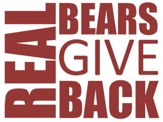 Real Bears Give Back Logo