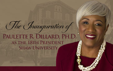 Event - Inauguration of President Dillard