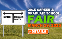 Career and Graduate School Fair Button